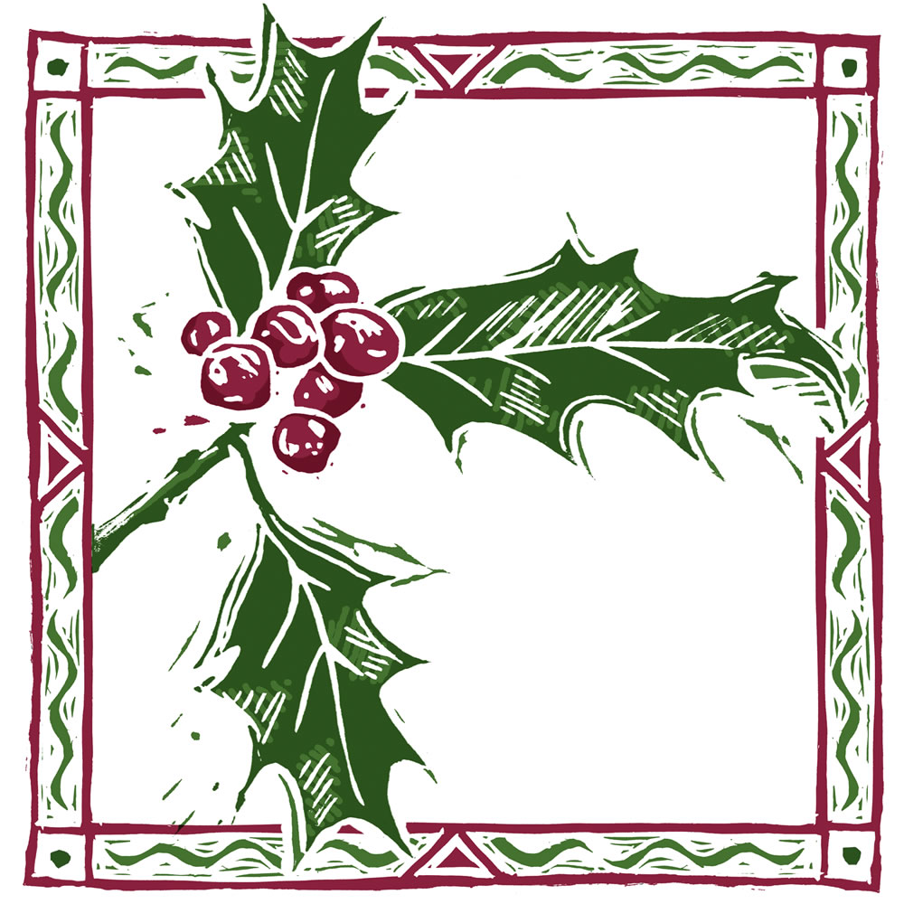 Sprig of holly